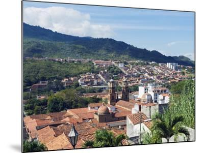 View Over San Gil, Colombia, South America-Christian Kober-Mounted Photographic Print