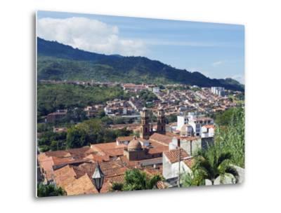 View Over San Gil, Colombia, South America-Christian Kober-Metal Print