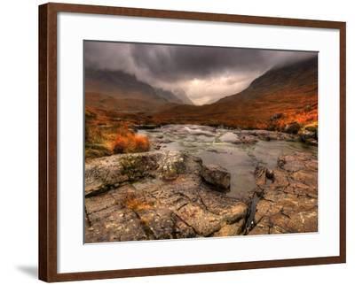 Glencoe, Highlands, Scotland, Uk-David Wogan-Framed Photographic Print