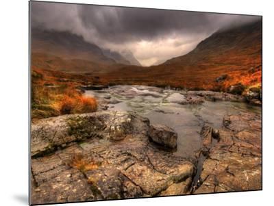 Glencoe, Highlands, Scotland, Uk-David Wogan-Mounted Photographic Print