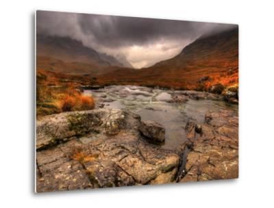 Glencoe, Highlands, Scotland, Uk-David Wogan-Metal Print