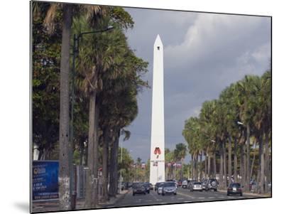 Obelisk, Santo Domingo, Dominican Republic, West Indies, Caribbean, Central America-Christian Kober-Mounted Photographic Print