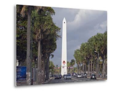 Obelisk, Santo Domingo, Dominican Republic, West Indies, Caribbean, Central America-Christian Kober-Metal Print