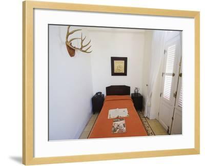 Ernest Hemingway's Room, Hotel Ambos Mundos, Havana, Cuba-Christian Kober-Framed Photographic Print