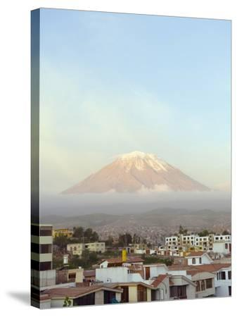 El Misti Volcano, 5822M, Above City, Arequipa, Peru, South America-Christian Kober-Stretched Canvas Print