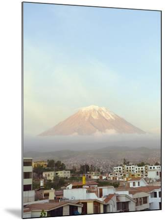 El Misti Volcano, 5822M, Above City, Arequipa, Peru, South America-Christian Kober-Mounted Photographic Print