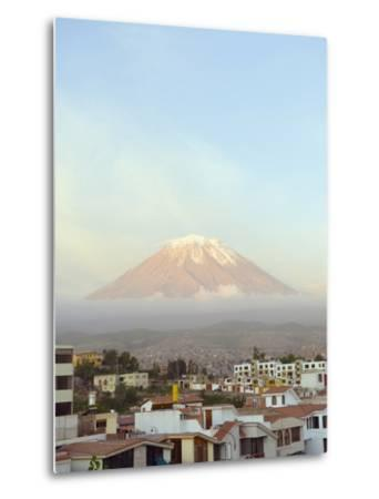 El Misti Volcano, 5822M, Above City, Arequipa, Peru, South America-Christian Kober-Metal Print