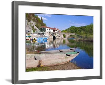 Rijeka Crnojevica, Montenegro, Europe-Michael Runkel-Framed Photographic Print