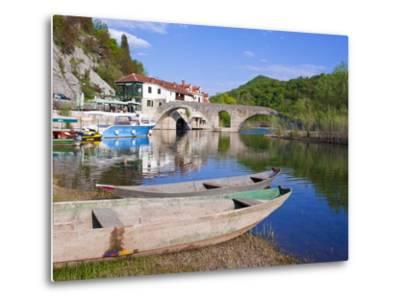 Rijeka Crnojevica, Montenegro, Europe-Michael Runkel-Metal Print