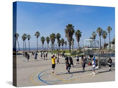 Venice Beach, Los Angeles, California, United States of America, North America-Sergio Pitamitz-Stretched Canvas Print