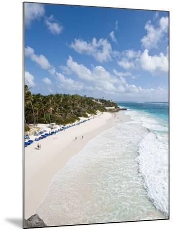 Crane Beach at Crane Beach Resort, Barbados, Windward Islands, West Indies, Caribbean-Michael DeFreitas-Mounted Photographic Print