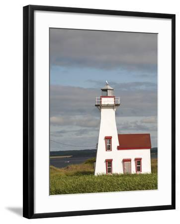 New London Lighthouse, New London, Prince Edward Island, Canada, North America-Michael DeFreitas-Framed Photographic Print