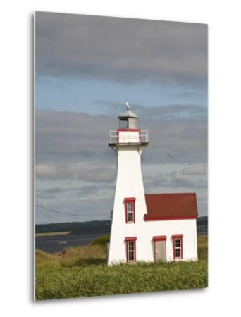 New London Lighthouse, New London, Prince Edward Island, Canada, North America-Michael DeFreitas-Metal Print