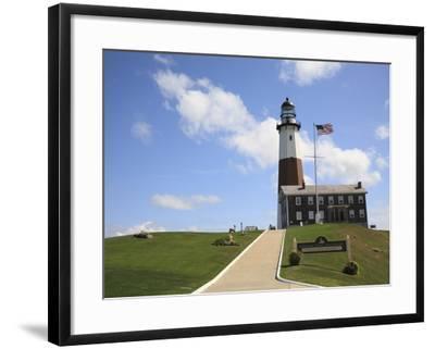 Montauk Point Lighthouse, Montauk, Long Island, New York, United States of America, North America-Wendy Connett-Framed Photographic Print