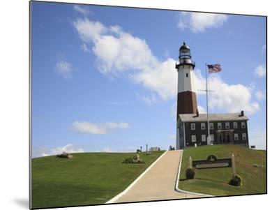 Montauk Point Lighthouse, Montauk, Long Island, New York, United States of America, North America-Wendy Connett-Mounted Photographic Print