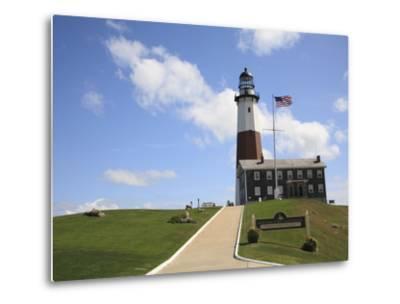 Montauk Point Lighthouse, Montauk, Long Island, New York, United States of America, North America-Wendy Connett-Metal Print