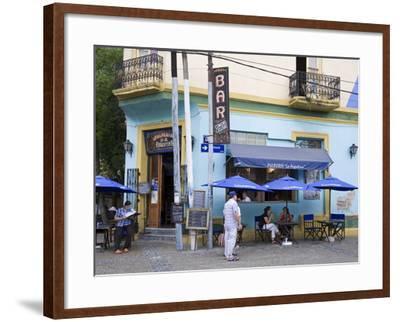 Pulperia La Argentina Bar in La Boca District of Buenos Aires, Argentina, South America-Richard Cummins-Framed Photographic Print