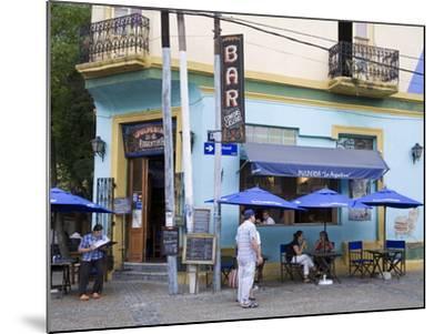 Pulperia La Argentina Bar in La Boca District of Buenos Aires, Argentina, South America-Richard Cummins-Mounted Photographic Print