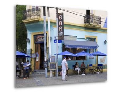 Pulperia La Argentina Bar in La Boca District of Buenos Aires, Argentina, South America-Richard Cummins-Metal Print
