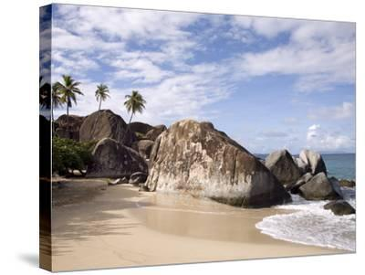 The Baths, Large Granite Boulders, Virgin Gorda, British Virgin Islands, West Indies, Caribbean-Donald Nausbaum-Stretched Canvas Print