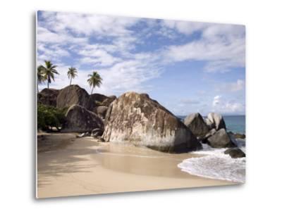 The Baths, Large Granite Boulders, Virgin Gorda, British Virgin Islands, West Indies, Caribbean-Donald Nausbaum-Metal Print