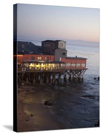 Old Restored Cannery in Monterey, California, United States of America, North America-Donald Nausbaum-Stretched Canvas Print