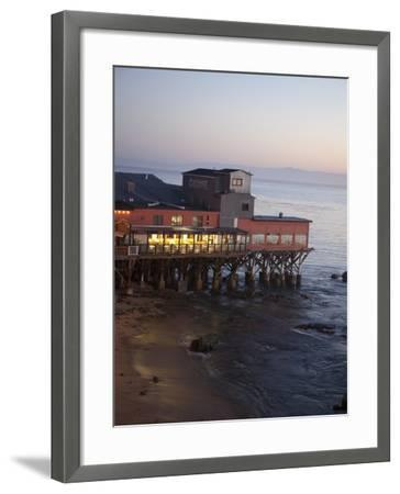 Old Restored Cannery in Monterey, California, United States of America, North America-Donald Nausbaum-Framed Photographic Print