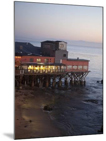 Old Restored Cannery in Monterey, California, United States of America, North America-Donald Nausbaum-Mounted Photographic Print