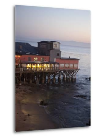 Old Restored Cannery in Monterey, California, United States of America, North America-Donald Nausbaum-Metal Print