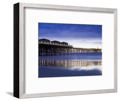 Crystal Pier on Pacific Beach, San Diego, California, United States of America, North America-Richard Cummins-Framed Photographic Print