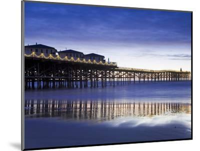 Crystal Pier on Pacific Beach, San Diego, California, United States of America, North America-Richard Cummins-Mounted Photographic Print