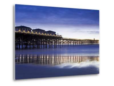 Crystal Pier on Pacific Beach, San Diego, California, United States of America, North America-Richard Cummins-Metal Print