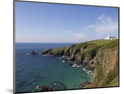 Lighthouse, Lizard Point, Cornwall, England, United Kingdom, Europe-Jeremy Lightfoot-Mounted Photographic Print