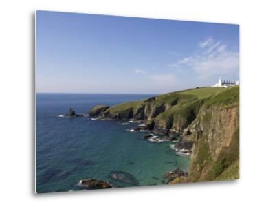 Lighthouse, Lizard Point, Cornwall, England, United Kingdom, Europe-Jeremy Lightfoot-Metal Print