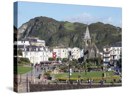 Town Centre, Ilfracombe, Devon, England, United Kingdom, Europe-Jeremy Lightfoot-Stretched Canvas Print