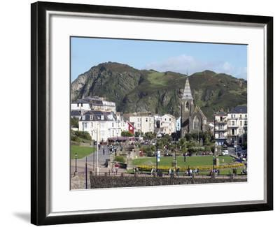Town Centre, Ilfracombe, Devon, England, United Kingdom, Europe-Jeremy Lightfoot-Framed Photographic Print