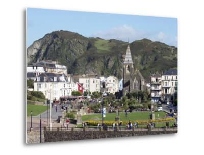 Town Centre, Ilfracombe, Devon, England, United Kingdom, Europe-Jeremy Lightfoot-Metal Print