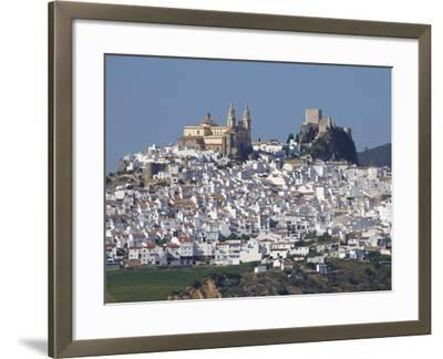 Olvera, Andalucia, Spain, Europe-Jeremy Lightfoot-Framed Photographic Print