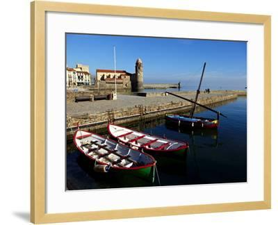 Collioure, Languedoc Roussillon, Cote Vermeille, France, Mediterranean, Europe-Mark Mawson-Framed Photographic Print