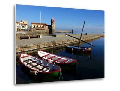 Collioure, Languedoc Roussillon, Cote Vermeille, France, Mediterranean, Europe-Mark Mawson-Metal Print