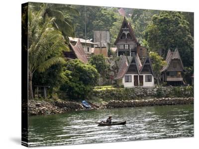 Tuk Tuk, Samosir Island, Lake Toba, Sumatra, Indonesia, Southeast Asia, Asia-Rolf Richardson-Stretched Canvas Print