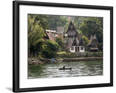 Tuk Tuk, Samosir Island, Lake Toba, Sumatra, Indonesia, Southeast Asia, Asia-Rolf Richardson-Framed Photographic Print