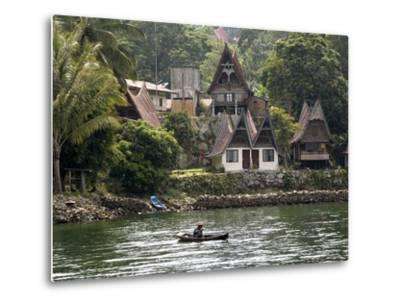 Tuk Tuk, Samosir Island, Lake Toba, Sumatra, Indonesia, Southeast Asia, Asia-Rolf Richardson-Metal Print