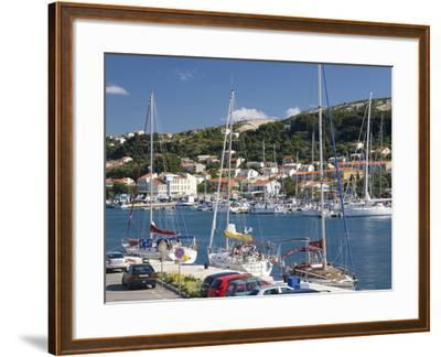 Yachts Moored in the Harbour, Rab Town, Island of Rab, Primorje-Gorski Kotar, Croatia, Europe-Ruth Tomlinson-Framed Photographic Print
