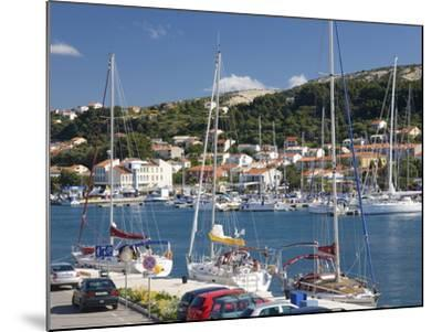 Yachts Moored in the Harbour, Rab Town, Island of Rab, Primorje-Gorski Kotar, Croatia, Europe-Ruth Tomlinson-Mounted Photographic Print