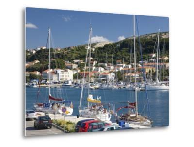 Yachts Moored in the Harbour, Rab Town, Island of Rab, Primorje-Gorski Kotar, Croatia, Europe-Ruth Tomlinson-Metal Print