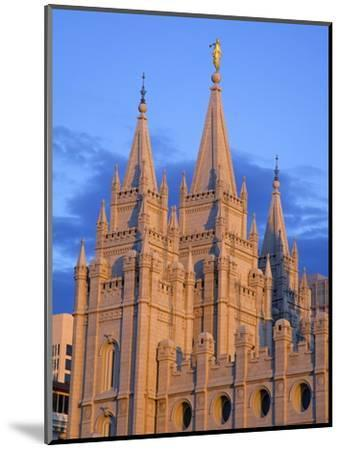 Mormon Temple on Temple Square, Salt Lake City, Utah, United States of America, North America-Richard Cummins-Mounted Photographic Print