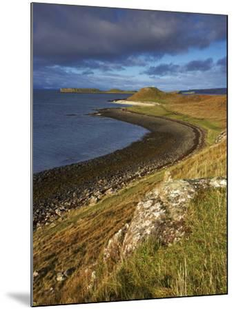 A View Towards the Coral Beaches Near Dunvegan, Isle of Skye, Scotland, United Kingdom, Europe-Jon Gibbs-Mounted Photographic Print