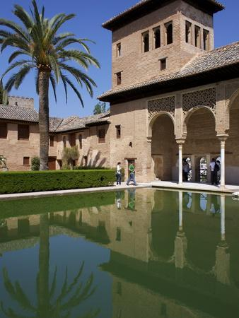 Ladies Tower, Partal Palace, Alhambra Palace, UNESCO World Heritage Site, Granada, Andalucia, Spain-Jeremy Lightfoot-Framed Photographic Print