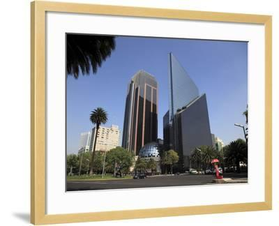 Mexican Stock Exchange Building, Centro Bursatil, Paseo De La Reforma, Reforma, Mexico City, Mexico-Wendy Connett-Framed Photographic Print